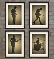 The 1975 - Silhouette by Posteritty
