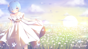 Rem: A Field Of Shiny Dreams | Wallpaper - FREE by AtheraAsyra