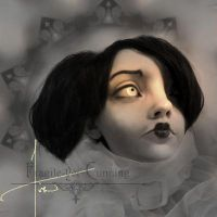 Young Morticia Frankensteps by Fragile-yet-CunNINg
