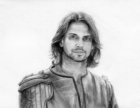 D'Artagnan from BBC's The Musketeers by LPSoulX