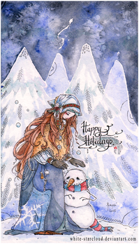 Happy Holidays (2015) by White-Starcloud