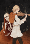 The Undead Violinist by winepire