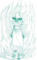 Daily Sketch: Wrath of the Sun Dress by Hunchy