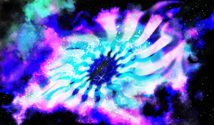 Painted Black Hole by SolinTheDragon