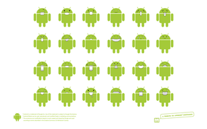Google Android wallpaper by WeyD