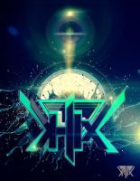 K-lix logo artwork by kampollo