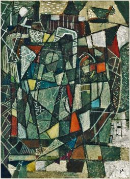 ABSTRACT CUBISM by acleia
