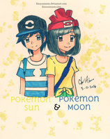 Pokemon Sun and Moon: Meet the Trainers by Kisarasmoon