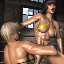 Private Match 01 Amika vs Chanel053 by CalvadosJapan