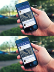 Facebook iOS 7 App - WIP by Dr-Vark