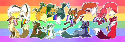 Pride 2018 Twitter Banner by Vicnor