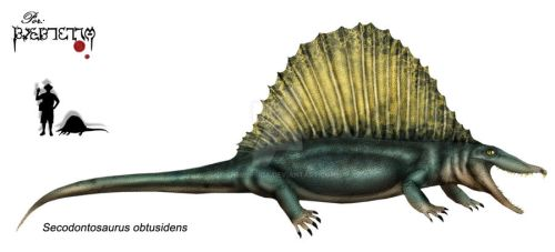 Secodontosaurus  obtusidens by Theropsida