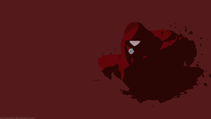 RWBY Ruby Rose Volume 4 (Minimalist Wallpaper) by ArcheoAlex
