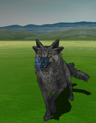 .:MMD:. Seven-eyed wolf... Thing by Miku-Nyan02