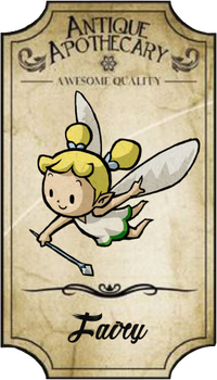 Printable Fairy's Apothecary Label by Crococraft