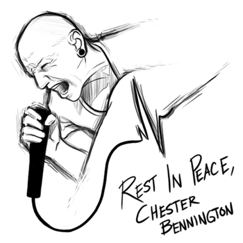 Rest in Peace, Chester Bennington by blueToaster