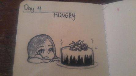 Day 4 : Hungry by nabilala22