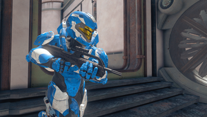 Halo 2 battle rifle is back by GhostHuckebein