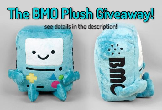 BMO Plush Giveaway -- Closed by SewDesuNe