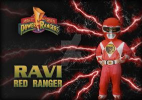 Ravi Power Ranger by Blackthorn87