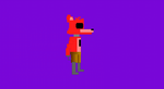 8-bit Foxy Walk Animation by mrredplasmabird12