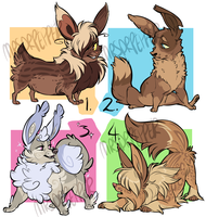 EEVEE(lution) SPECIAL AUCTION: closed! by MrsDrPepper