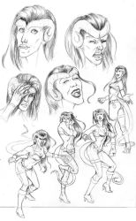 Character Design Emotions by stuck-in-tree