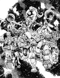 2000AD Christmas 2017 issue cover artwork. by StazJohnson