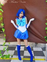 Sailor Mercury Make Up! by Sailorcristal