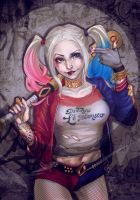 Harley Quinn by AReeeD
