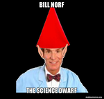 bill norf the science dwarf by Rainbow-Space-Cat
