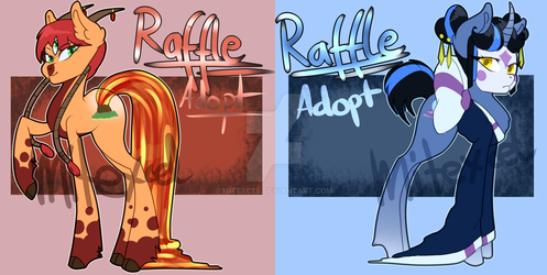 [RAFFLE] Pony Adopts (CLOSED) by MiTexcel