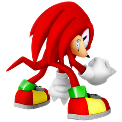 Knuckles 2018 Legacy Render by Nibroc-Rock
