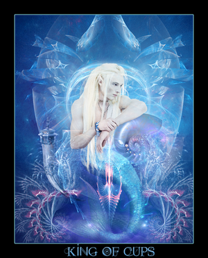 Tarot-King of Cups by wintersmagic