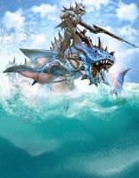 Sea Dragoons of Draconia by SlackerMagician