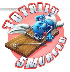 Totally Smurfed... by MalSemmensArt