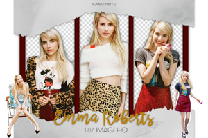 Photopack Png Emma Roberts 15 by Ricardo-Swift22