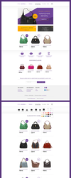 E-commerce with handbags by lefiath