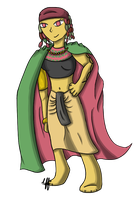 Flygon Gijinka by yellowy-yellow