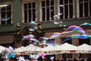 Bubbles in Cracow by Yuveza