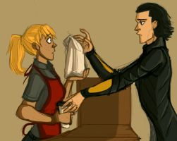 Learning Midgardian Customs by LessienMoonstar