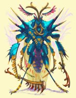 Insect warrior ago 2018 ver 01 by Onikaizer