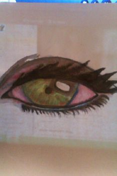 Water color eye by Eva721