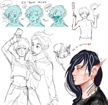 Sketch Dump by lord-loser
