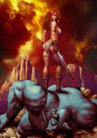 Red Sonja II by Valzonline