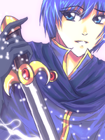 Super Smash - Marth by AStudyInScarlet