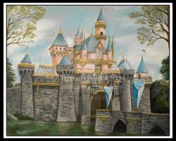 Sleeping Beauty Castle by Terrauh