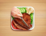 Food App Icon by Icondesire