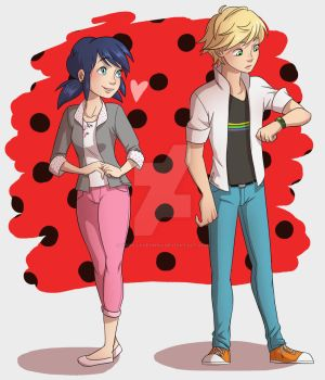 Miraculous Ladybug :D (don't repost please) by VanillaDeonna
