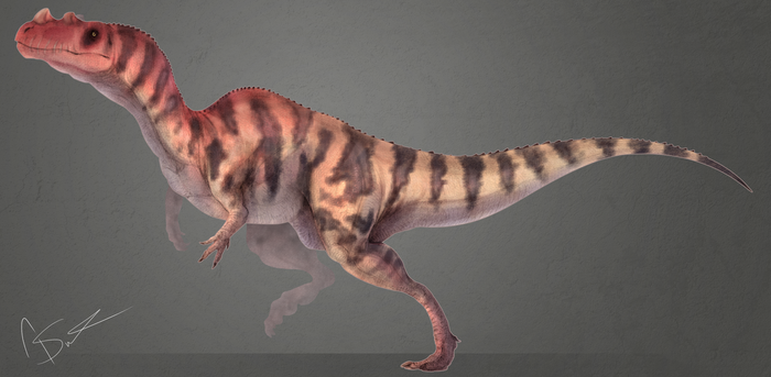 Ceratosaurus by GoldenNove
